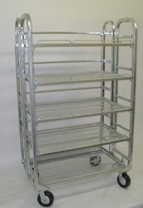 Picture of 120 Gallon Folding 5 Shelf Milk Bossy