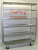 "Picture of 2-Sided Removable  Shelf Nursery Cart Display Cart 59"" Model"