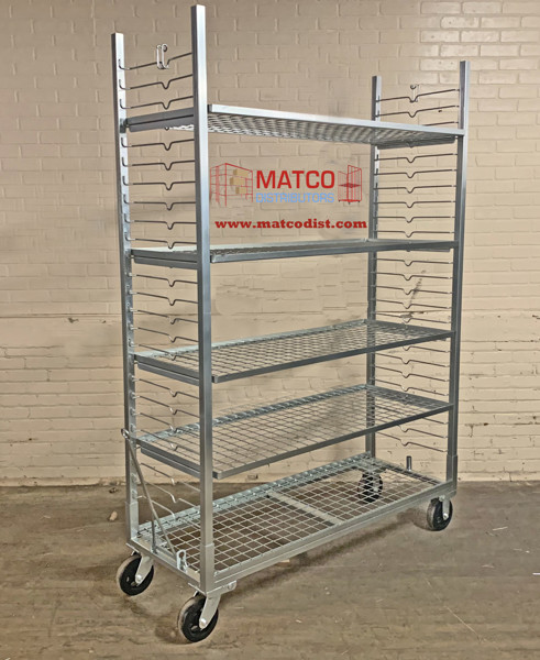 Picture of Zinc Plated Plant Cart 56""